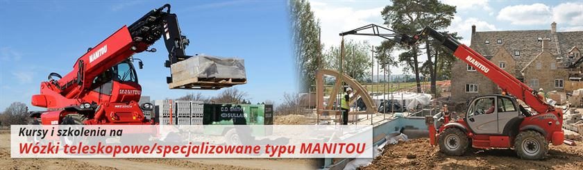 Szkolenia na wózki I WJO specjalizowane ładowarki teleskopowe Manitou, JCB
